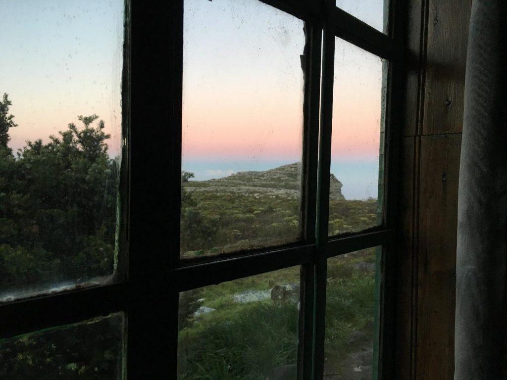 Table Mountain Hike, Hut, Sunrise
