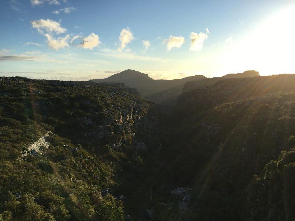 Table Mountain Hike, Kasteelspoort